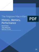 History Memory Performance