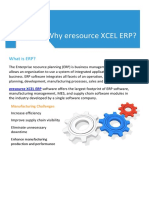 Why Xcel Erp for Manufacturing?