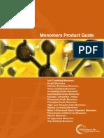 PRINT Monomers Guide