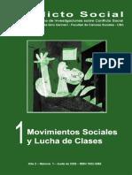 Revista Conflicto Social - movimientos sociales y lucha de clases.