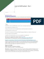 LSMW Material Master by BAPI Method – Part 1