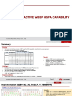 InActive WBBP HSPA Capability Shared