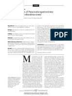 Critical Analysis of a Large Series of Pancreaticogastrostomy