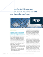 Us Cons Hcm Success Factors and Sap 051513
