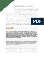 Ejemplo_Aplicación Del Proceso Software Personal PSP