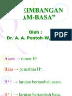Keseimbangan asam basa