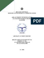 Helios Airways flight HCY522 Report