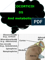 Glucocorticoid and Metabolism