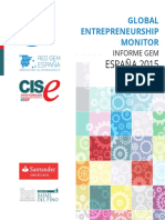Informe GEM 2015 Esafp
