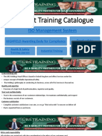 URS Egypt Training Catalogue