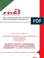 Srei Investor Update Mar16 New