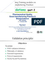 Supplementary Training on Good Manufacturing Practices_WHO