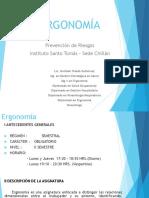 0.- PPT - ErgonomÃ-a - Presentación Ramo