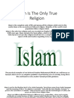 Islam Is The Only True Religion.pptx