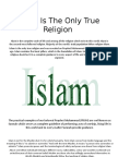 Islam is the Only True Religion