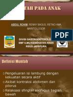 Kuliah Muntah