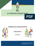 Tema 7 - Iniciación Deportiva