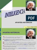Inteligencia. Apuntes históricos