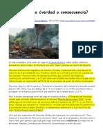 2016-11-15 Ribeiro Caos Climático ¿Verdad o Consecuencia