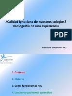 Badiola, J., 2011, Calidad Ignaciana en Colegios