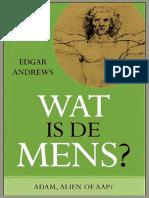 Recensie - Wat is de Mens - Edgar Andrews