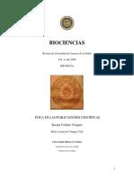 Etica en Las Publicaciones Cientificas