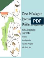 Curso de Geologia e Processos de Dinâmica Superficial