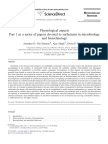 Physiological Aspects Part 1 in a Series of Papers Devoted to Surfactants in Microbiology and Biotechnology