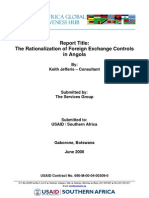 Rational is at Ion of Foreign Exchange Controls in an Go La
