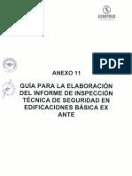 Anexo 11 Guia Para La Elaboracion Del Informe de ITSE Basica Ex Ante