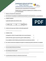 Evaluacion Quimestral Gestión y Emprendimiento 3rode Bachillerato