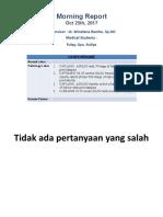 Morning Report 251017