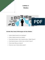 NB2 Netzwerk Lektion 3- Medien