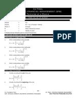 Complete Strategic Financial Management  Formulae