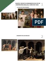 Cuadros y Esculturas Vivientes. Proyecto Iconográfico Del Dto de Griego Del Ies Río Júcar, Madrigueras (Albacete). Curso 2017-2018
