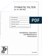 Filter Specifications
