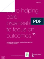 Were Helping Care Organisations to Focus on Outomes_toolkit