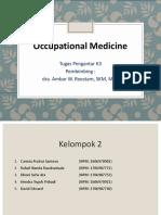 Kelompok 2 - Occupational Medicines