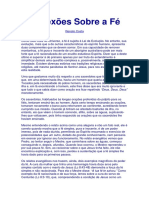 Reflexões Sobre a Fé (Renato Costa)