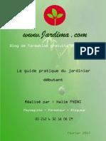 Guide Du Jardinier Débutant - Jardima.ma