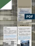 A.110 Transportes y Comunicaciones