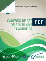Caderno de Receitas do Recôncavo da Bahia