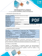 Guía de Actividades y Rúbrica de Evaluación - Fase 2 - Plan de Actuación