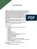 Carcinoma de Pâncreas