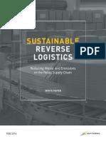 Sustainable Reverse Logistics