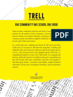 Trell by Dick Lehr - One Community One Book Sheet