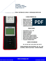 Ficha Tecnica Analizador de Bateria