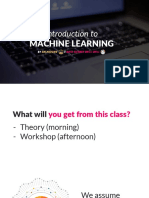 Introduction to ML Theory