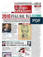 Il Fatto Quotidiano Del 10 Settembre 2010