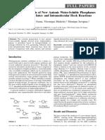 Advanced Synthesis & Catalysis Volume 344 issue 3-4 2002 [doi 10.1002%2F1615-4169%28200206%29344%3A3%2F4%3C393%3A%3Aaid-adsc393%3E3.0.co%3B2-k] Rémi